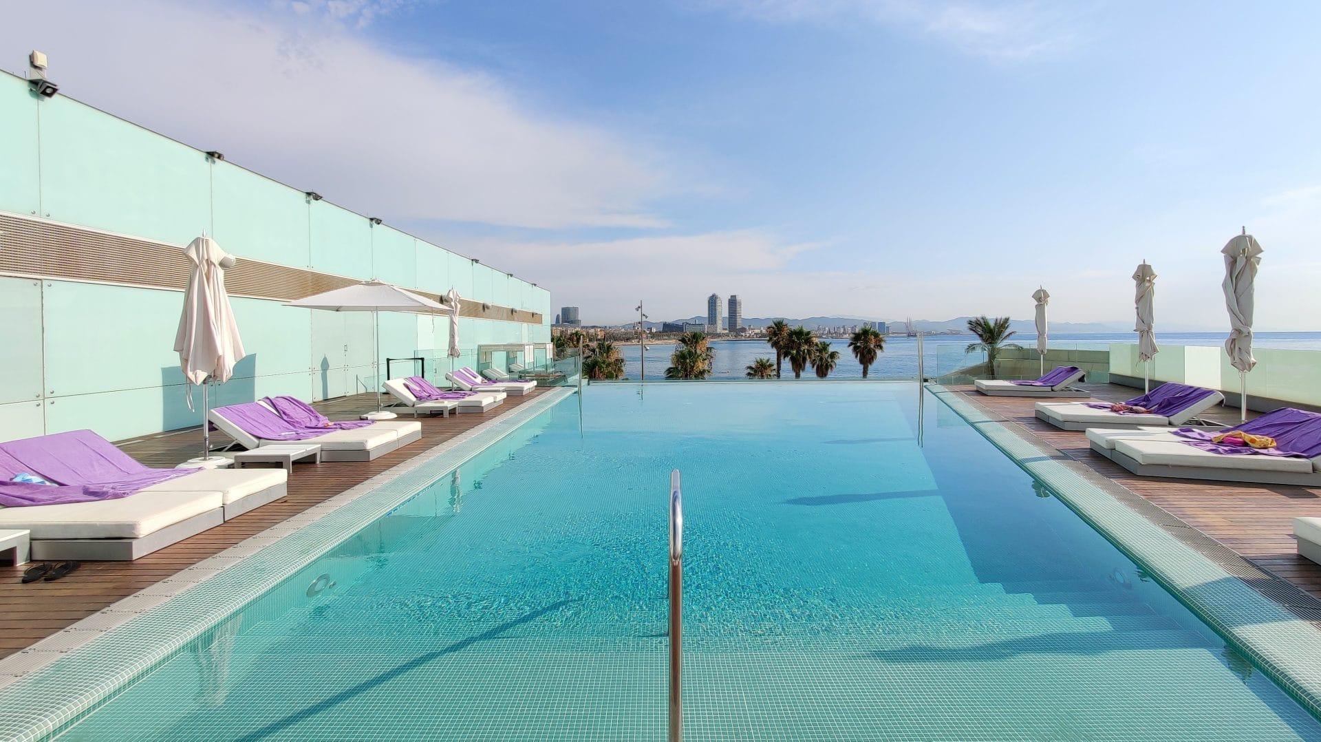 W Barcelona Infinity Pool 8