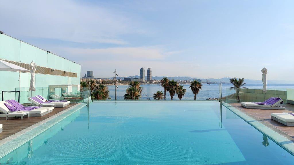 W Barcelona Infinity Pool 9