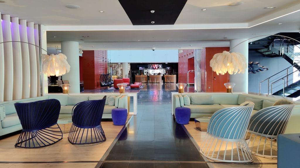 W Barcelona Lobby