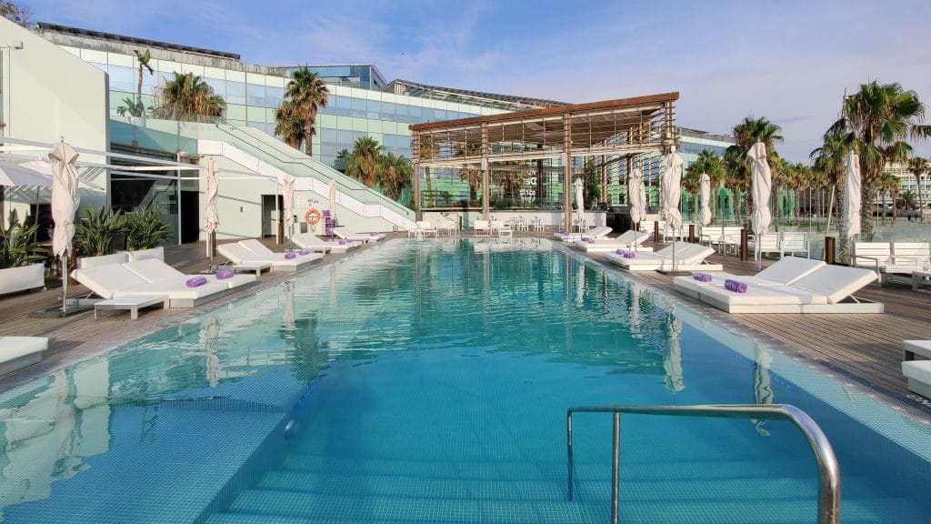 W Barcelona Pool 10