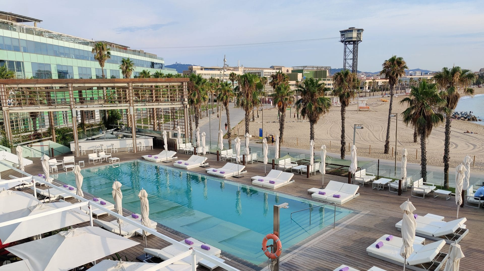 W Barcelona Pool 2