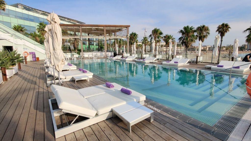 W Barcelona Pool 3