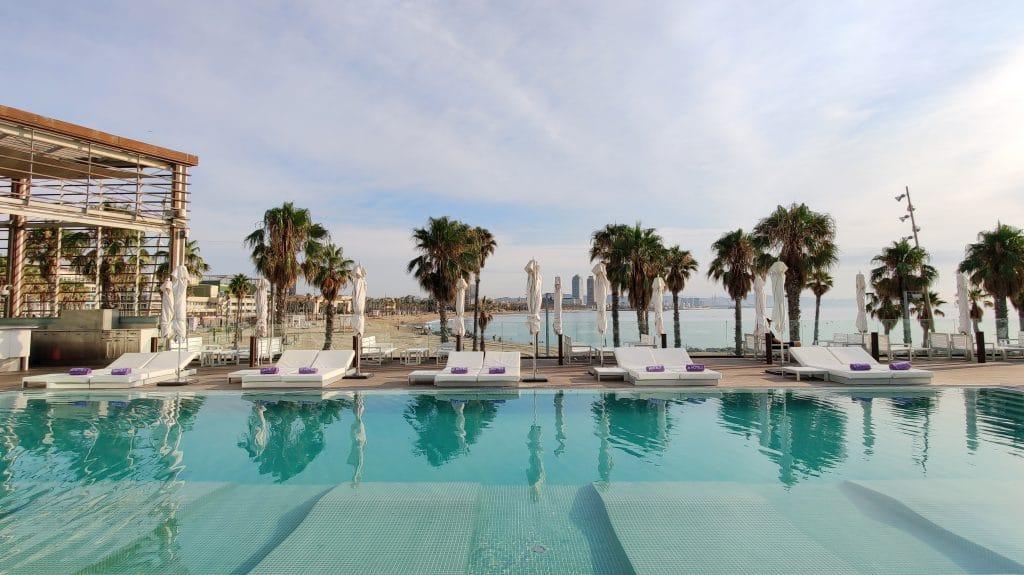 W Barcelona Pool 5
