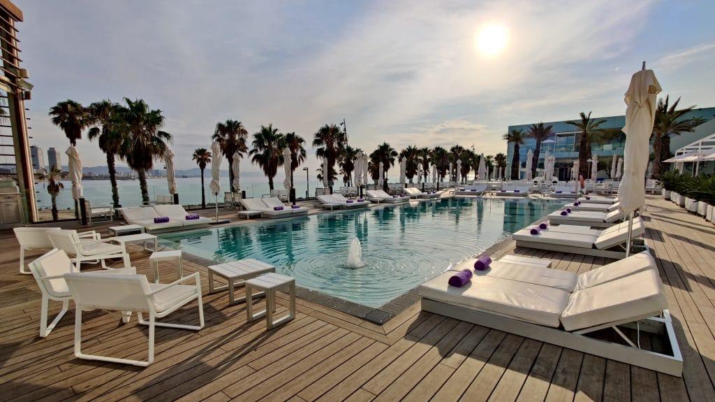 W Barcelona Pool 6