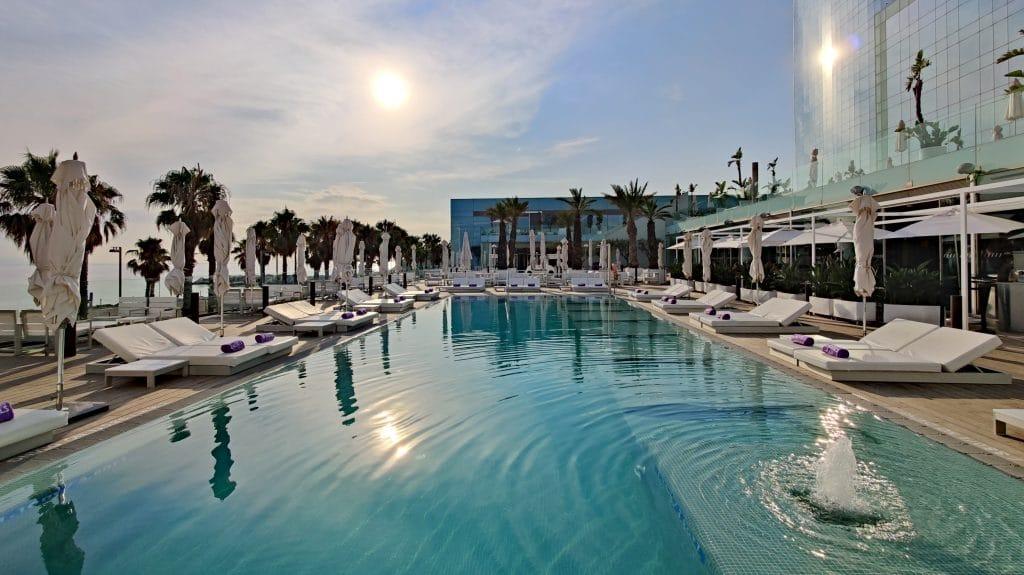 W Barcelona Pool 7