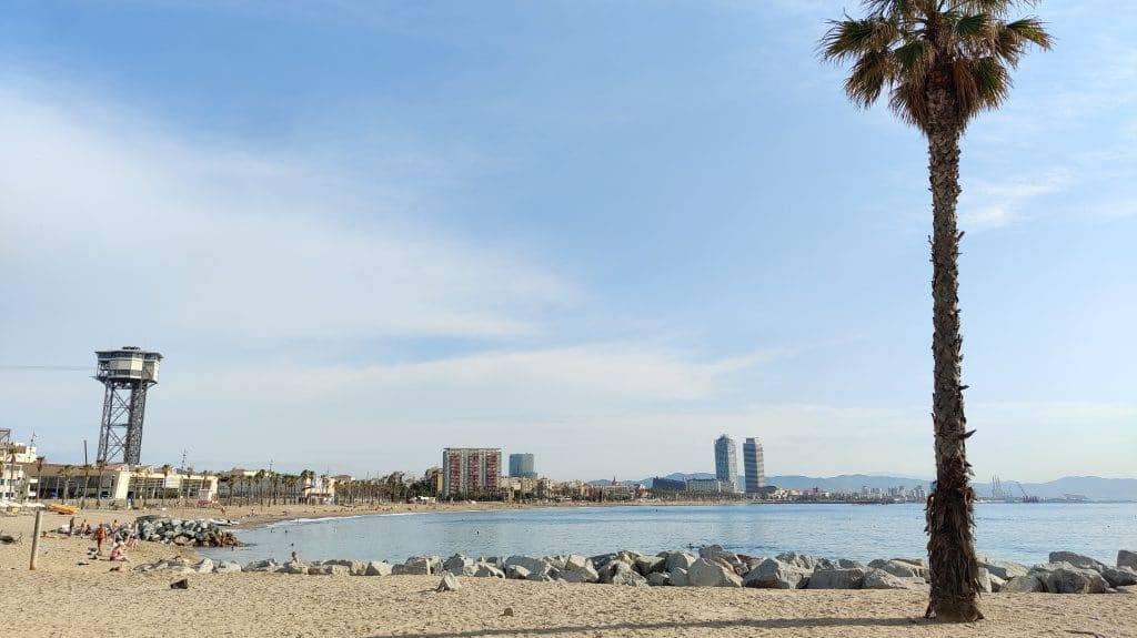 W Barcelona Strand