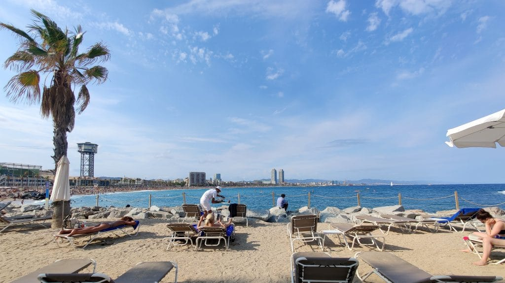 W Barcelona Strand Beach Club