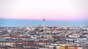 Berlin Sonnenuntergang