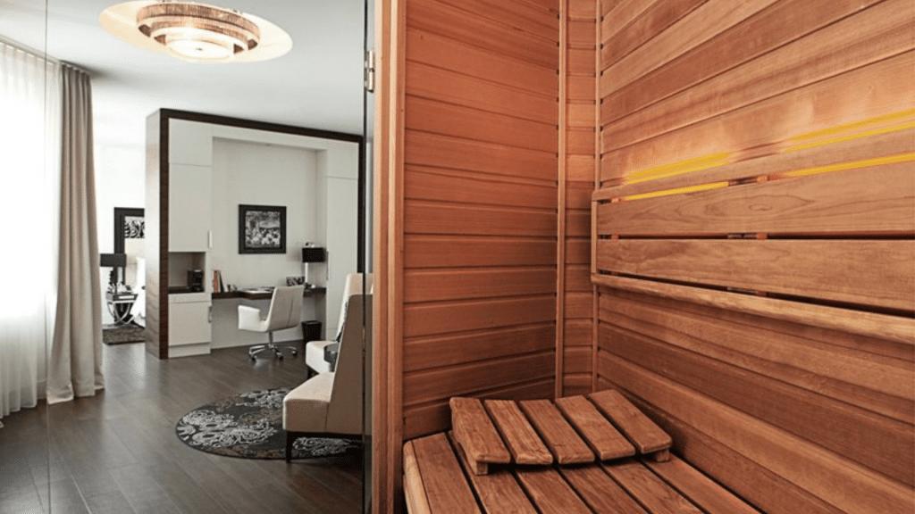 Sauna Im Zimmer Hotel Am Steinplatz Berlin