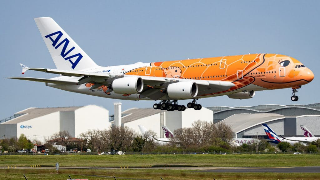 All Nippon Airways ANA A380