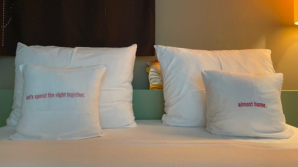 25hours Hotel Zuerich West Kopfkissen