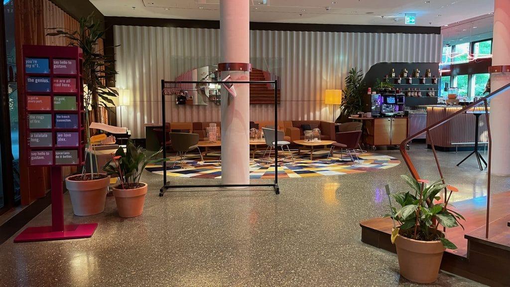 25hours Hotel Zuerich West Lobby