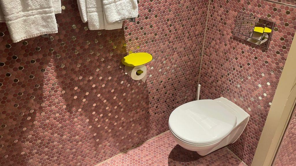25hours Hotel Zuerich West Toilette