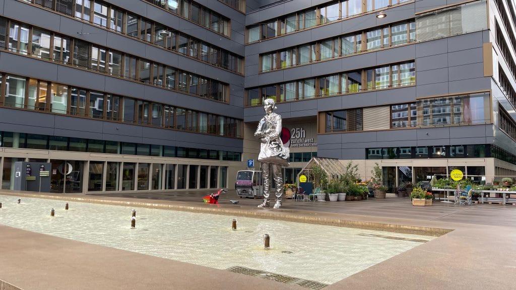 25hours Hotel Zuerich West Außen