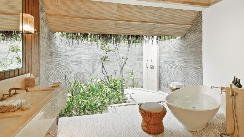 Six Senses Kanuhura Badezimmer