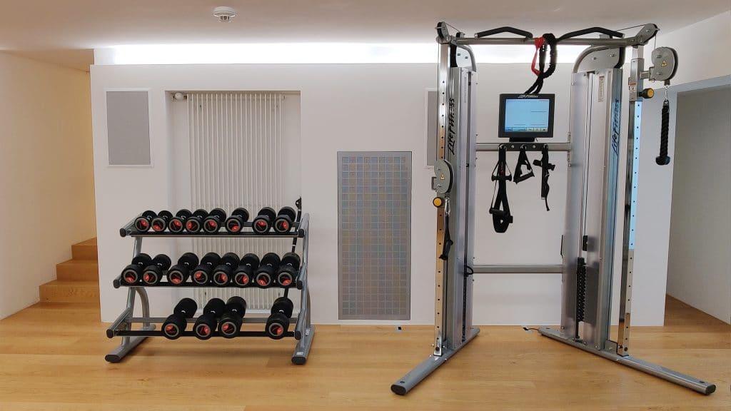 7132 Hotel Vals Fitness Krafttraining