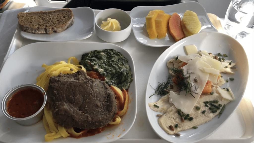 Catering Lufthansa Business Class