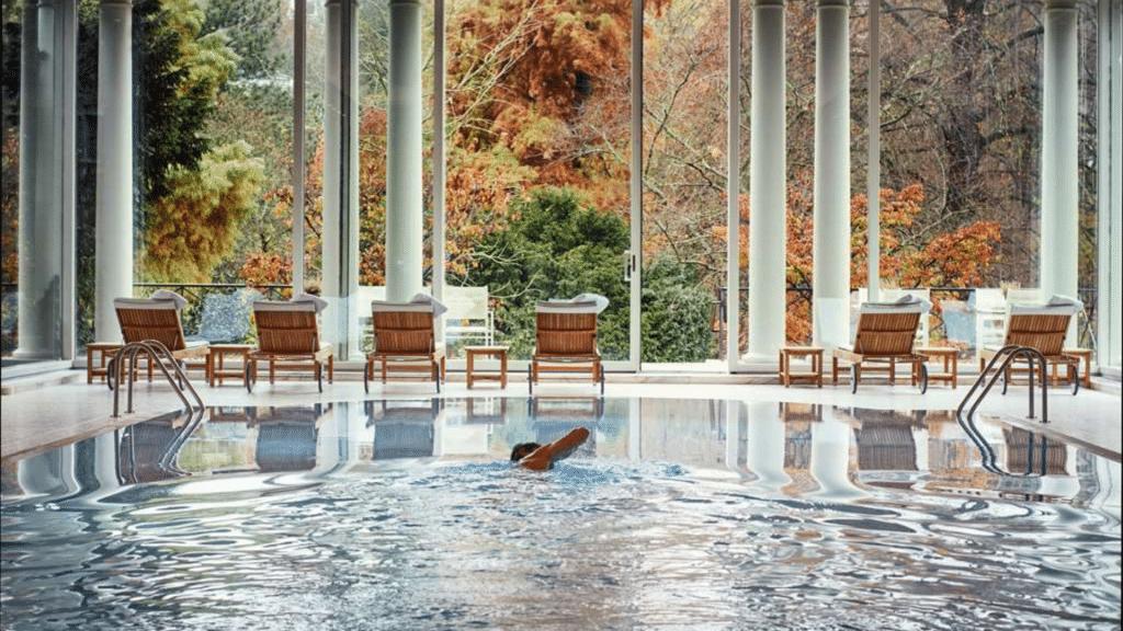 Brenners Park Hotel Baden Baden Pool