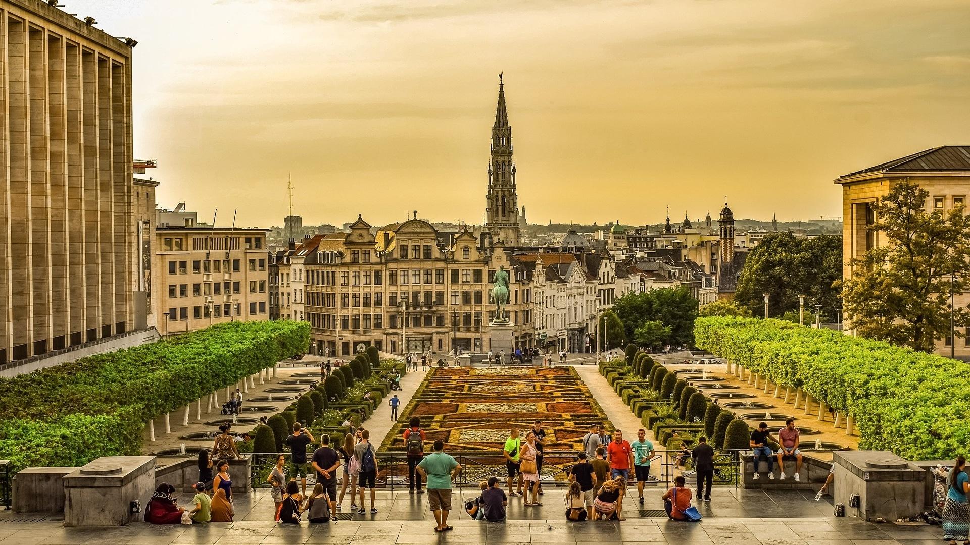 Brüssel Skyline Cropped