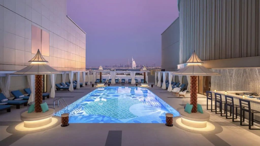 Cabana Pool Andaz Dubai The Palm 1