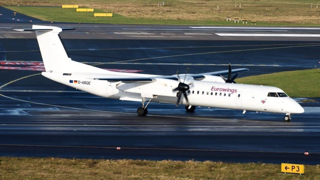 Eurowings Bombardier Q400 D ABQE 39342876462 1024x682 Cropped