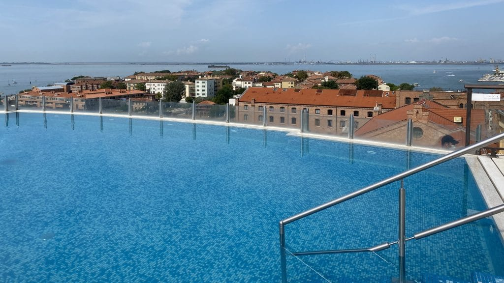 Hilton Molino Stucky Venedig Pool