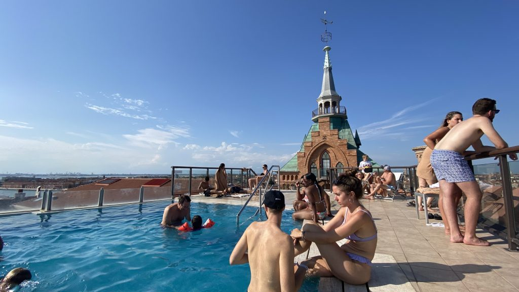 Hilton Molino Stucky Venedig Pool 2