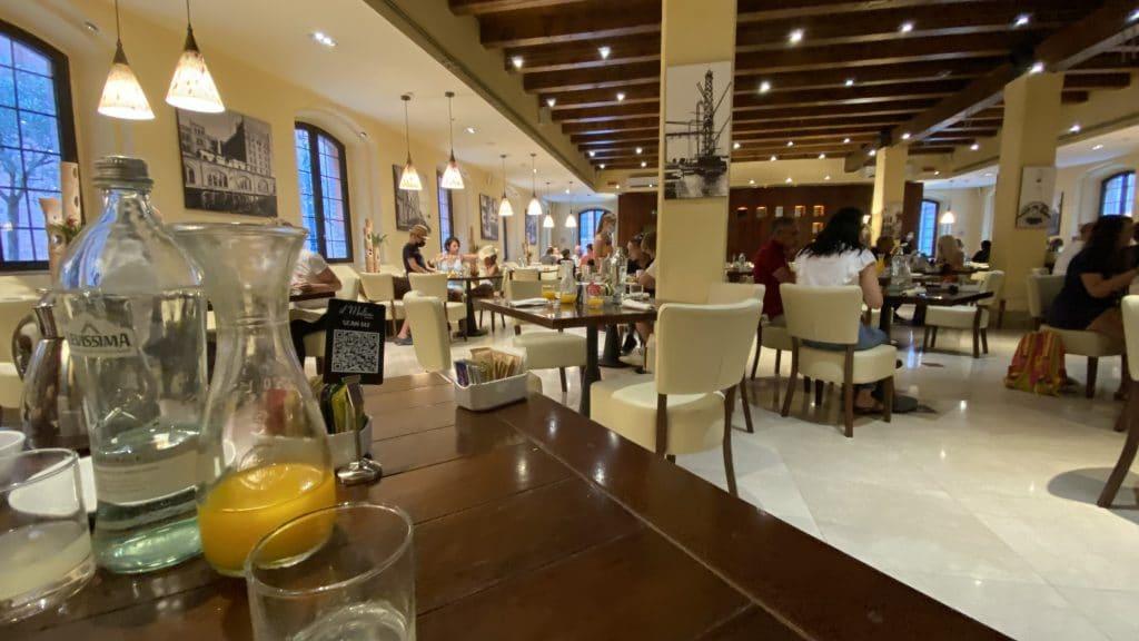 Hilton Molino Stucky Venedig Speisesaal