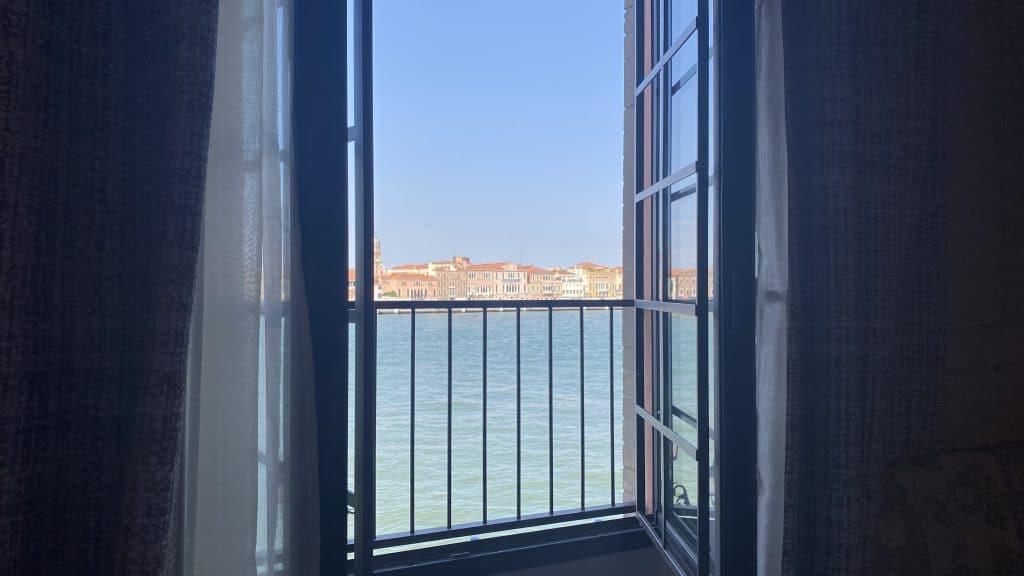 Hilton Molino Stucky Venedig Ausblick