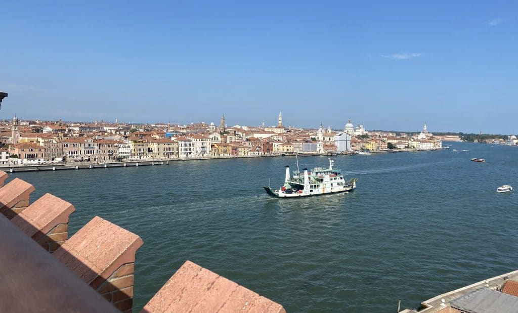 Hilton Molino Stucky Venedig Ausblick Venedig