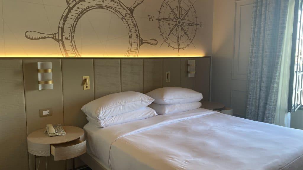 Hilton Molino Stucky Venedig Bett Nah