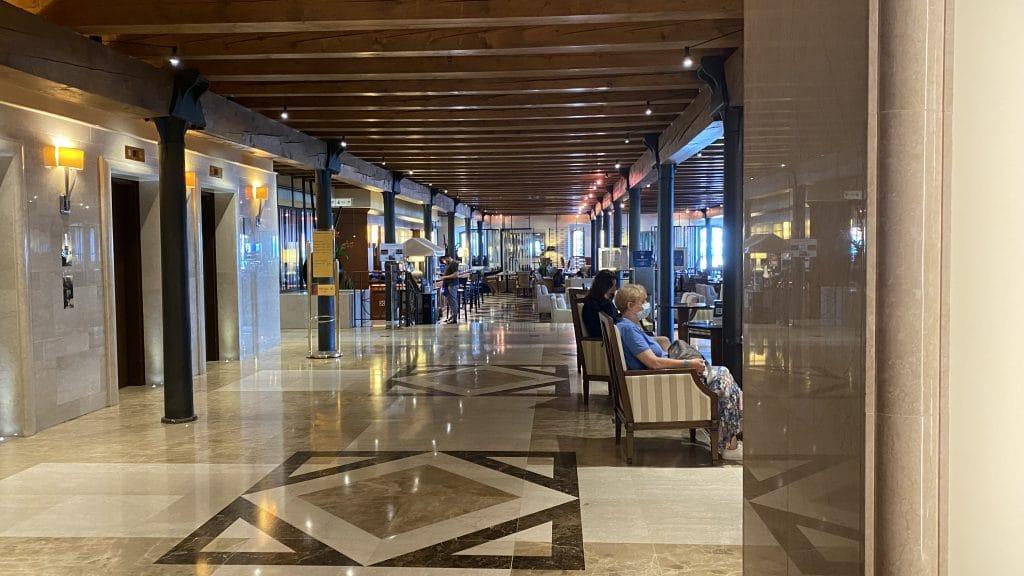 Hilton Molino Stucky Venedig Eingangsbereich 1