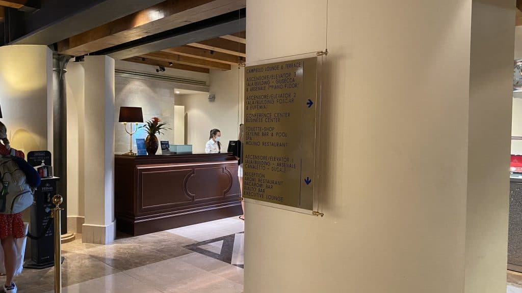Hilton Molino Stucky Venedig Uebersicht