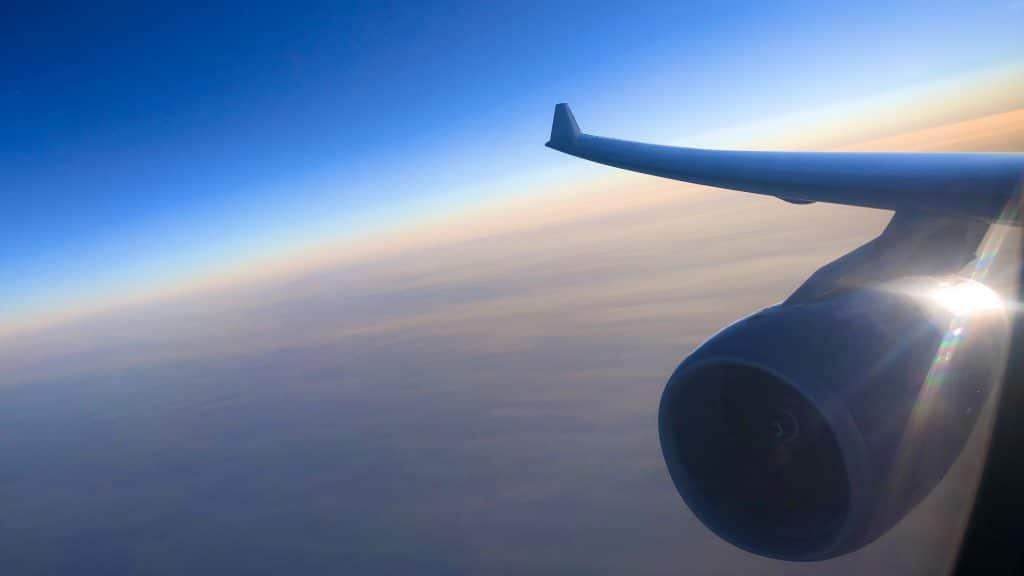 Ausblick A330 Reihe 3 Lufthansa Business Class