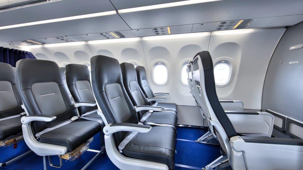 Lufthansa Airbus A321neo Business Class Kabine Sitz