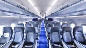 Lufthansa Airbus A321neo Kabine Sitz