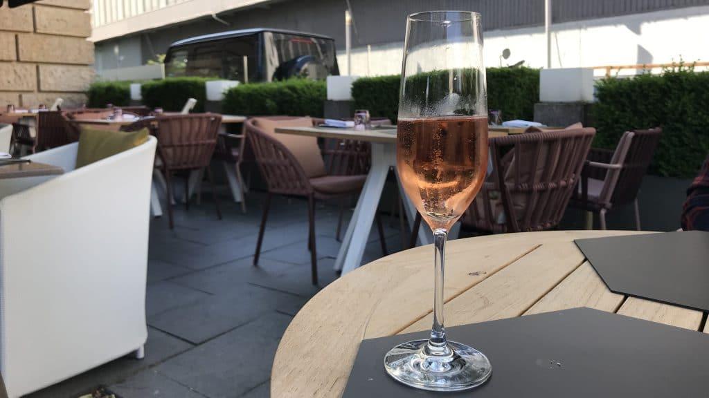Sofitel München Bayerpost  Champagner