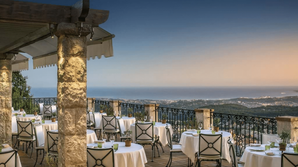 Le Chateau Saint Martin Dinner