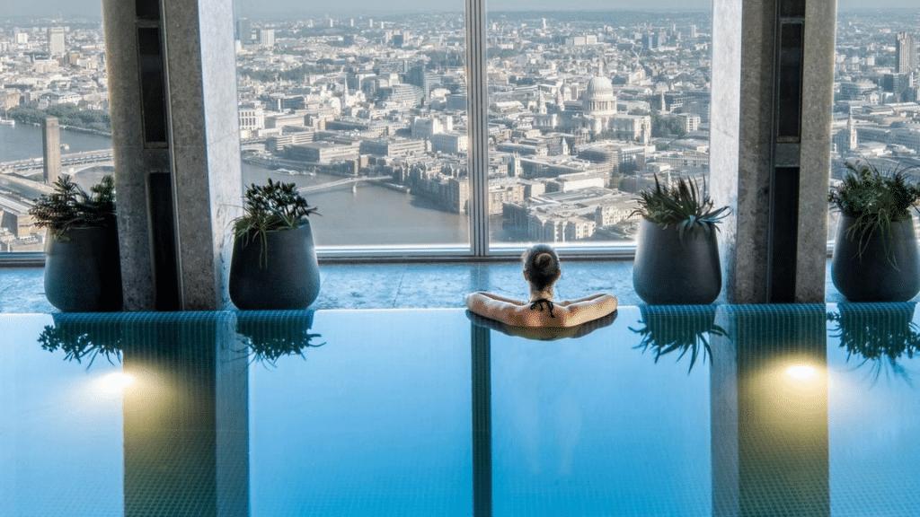 Shangri La Pool London