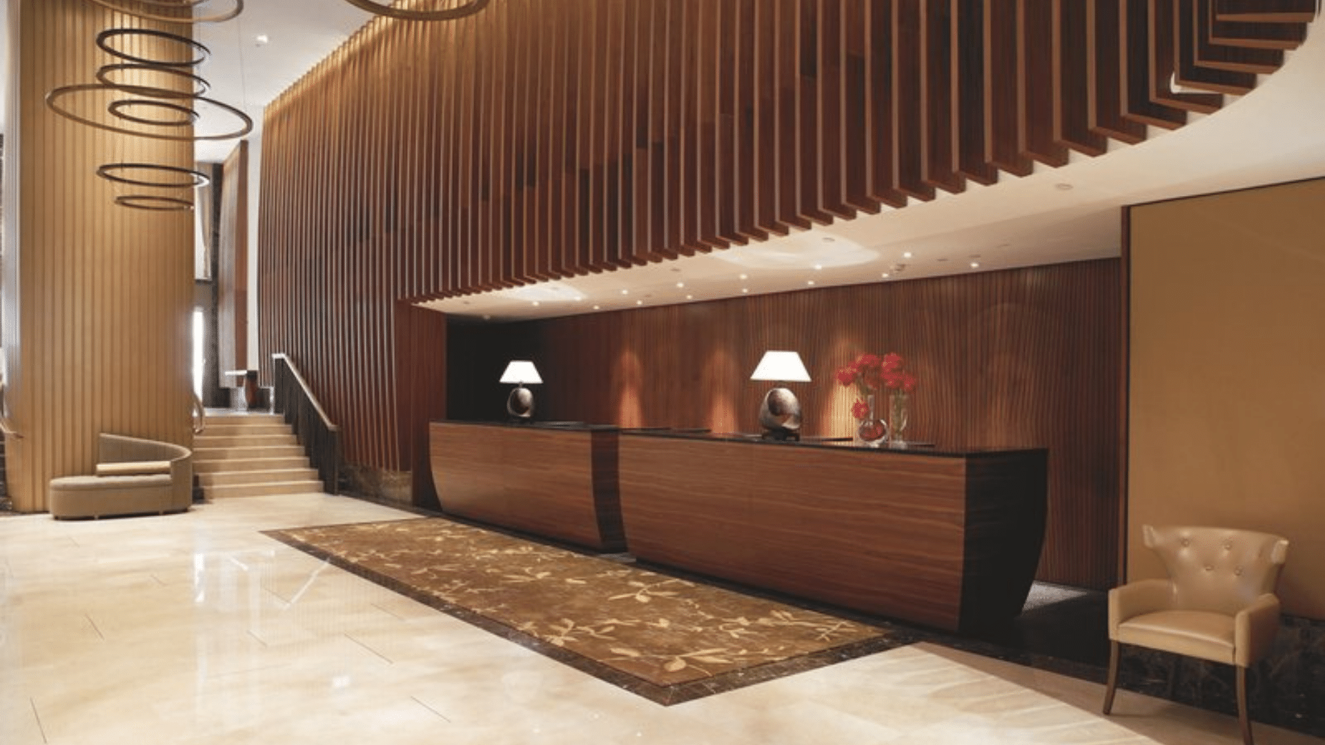 The Ritz Carlton Wien Rezeption