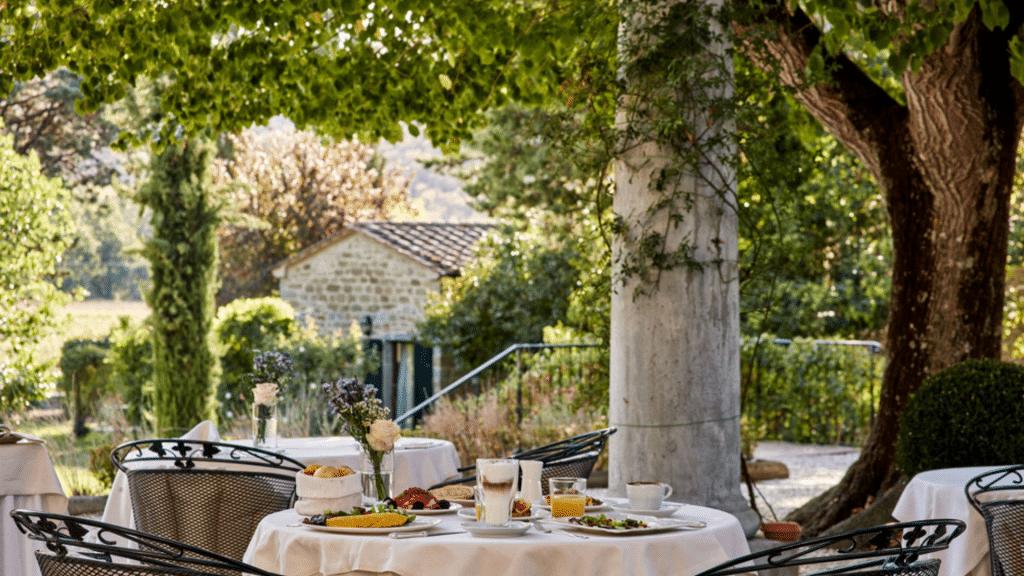 Villa Di Piazzano Breakfast