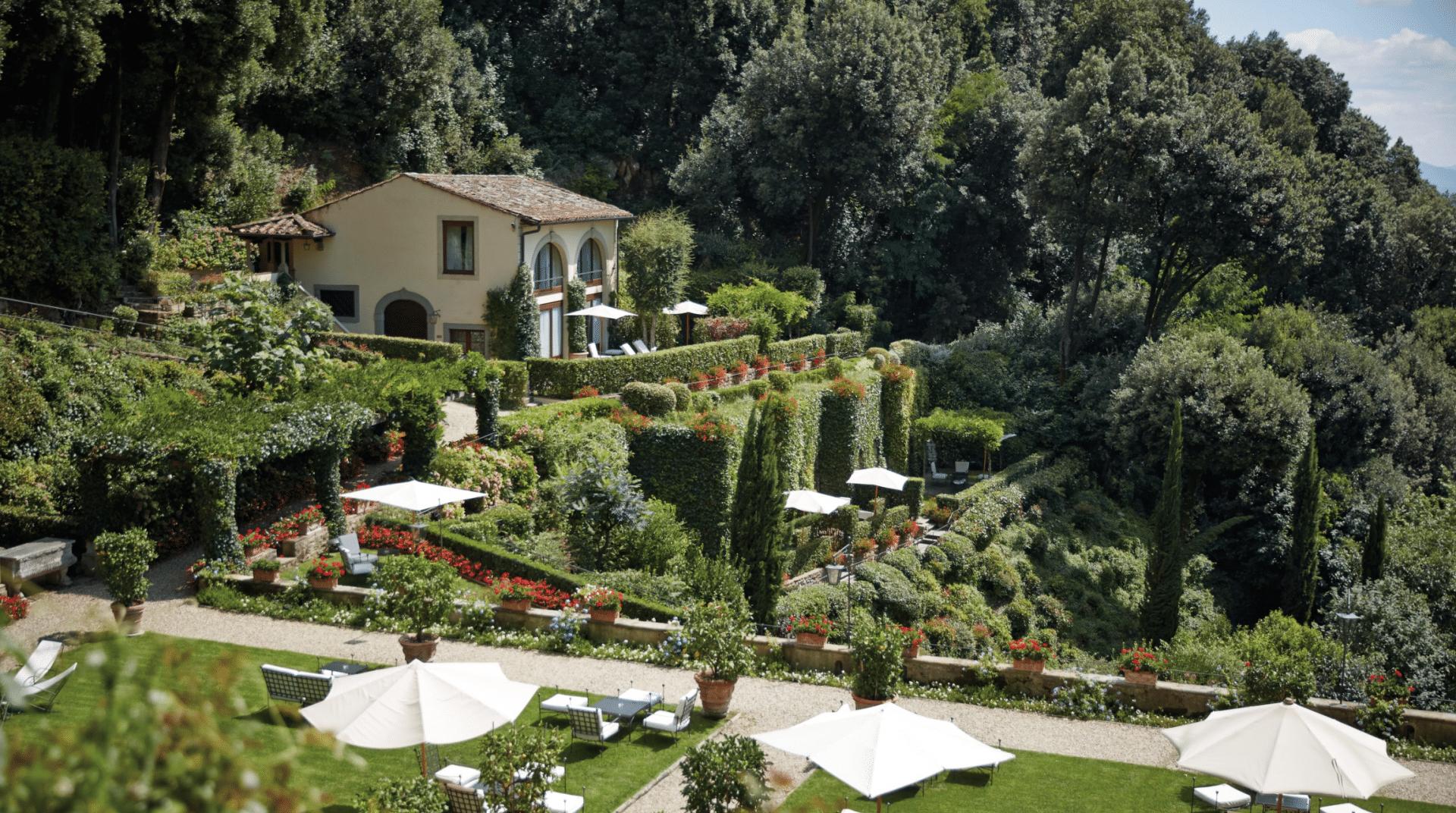 Belmond Villa San Michele Garten, Florenz