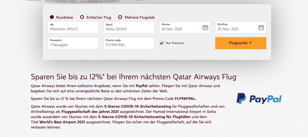 Qatar Airways Promo