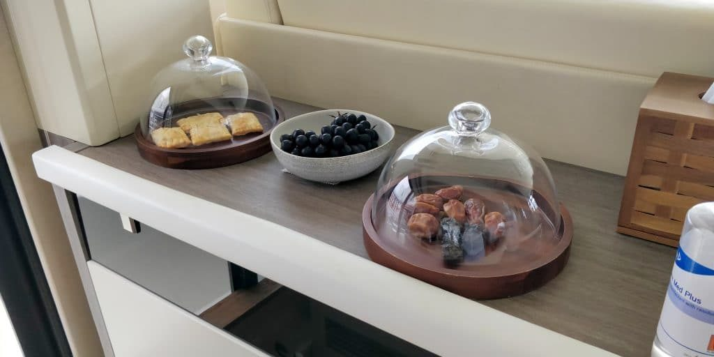 Waldorf Astoria Maldives Ithaafushi Yacht Snacks 2