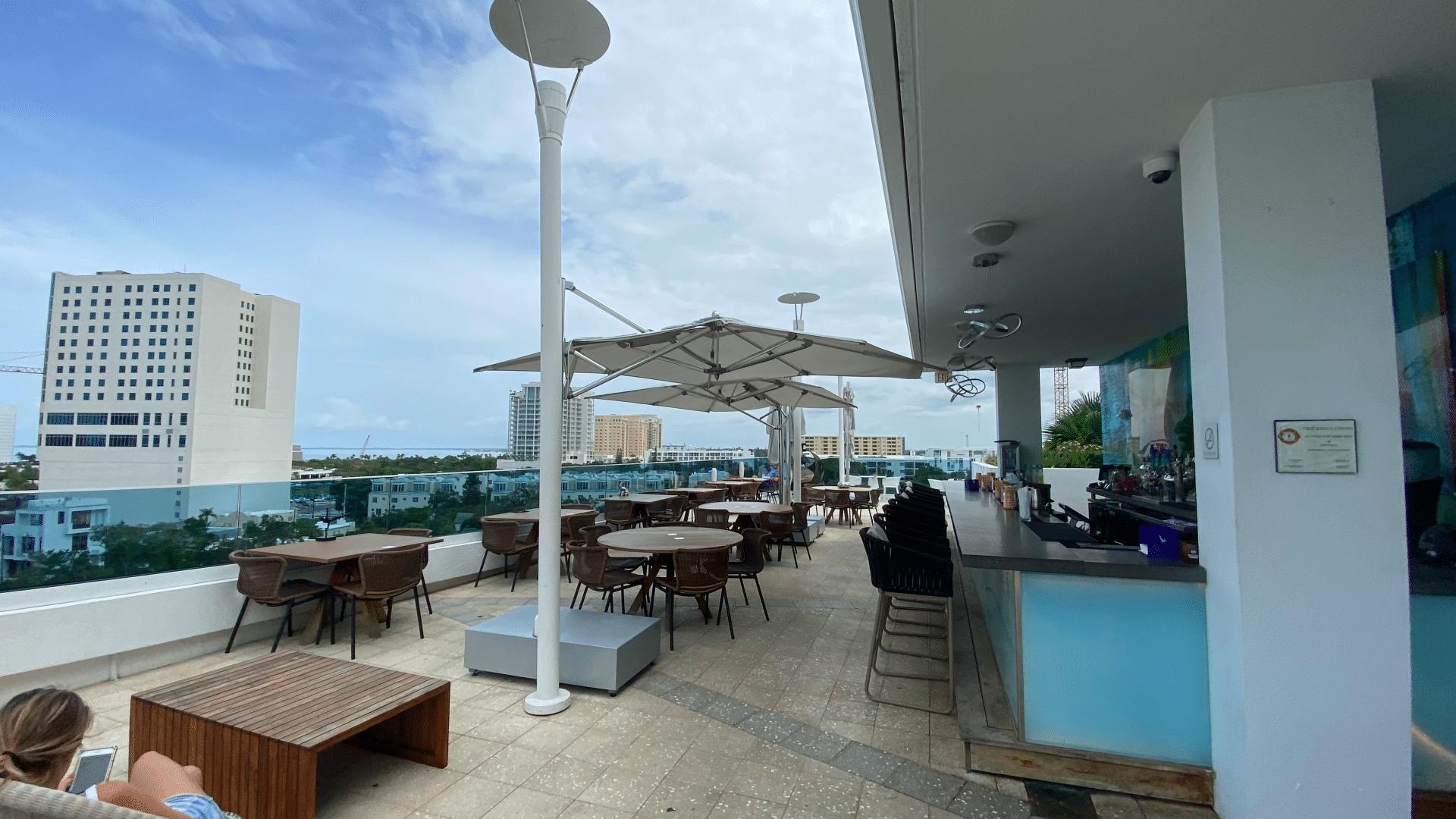 Art Ovation Hotel Rooftop Bar