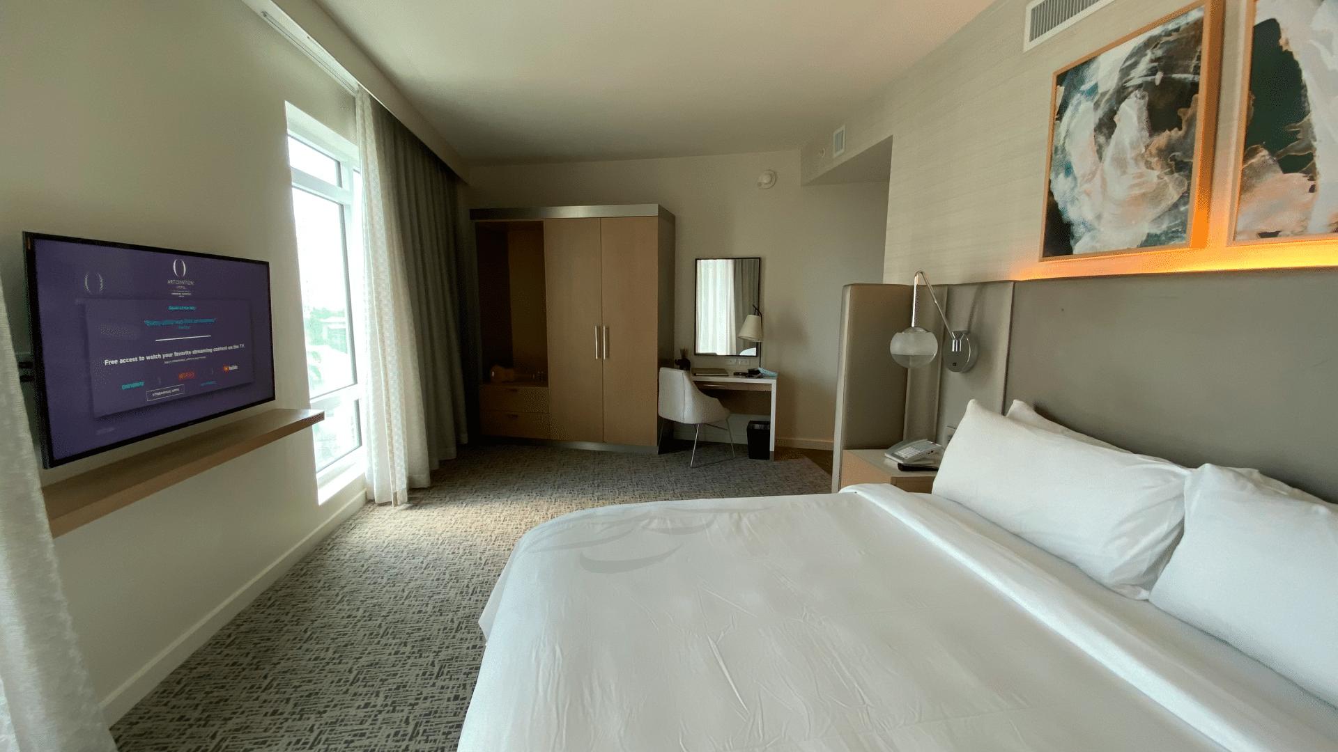 Art Ovation Hotel Zimmer
